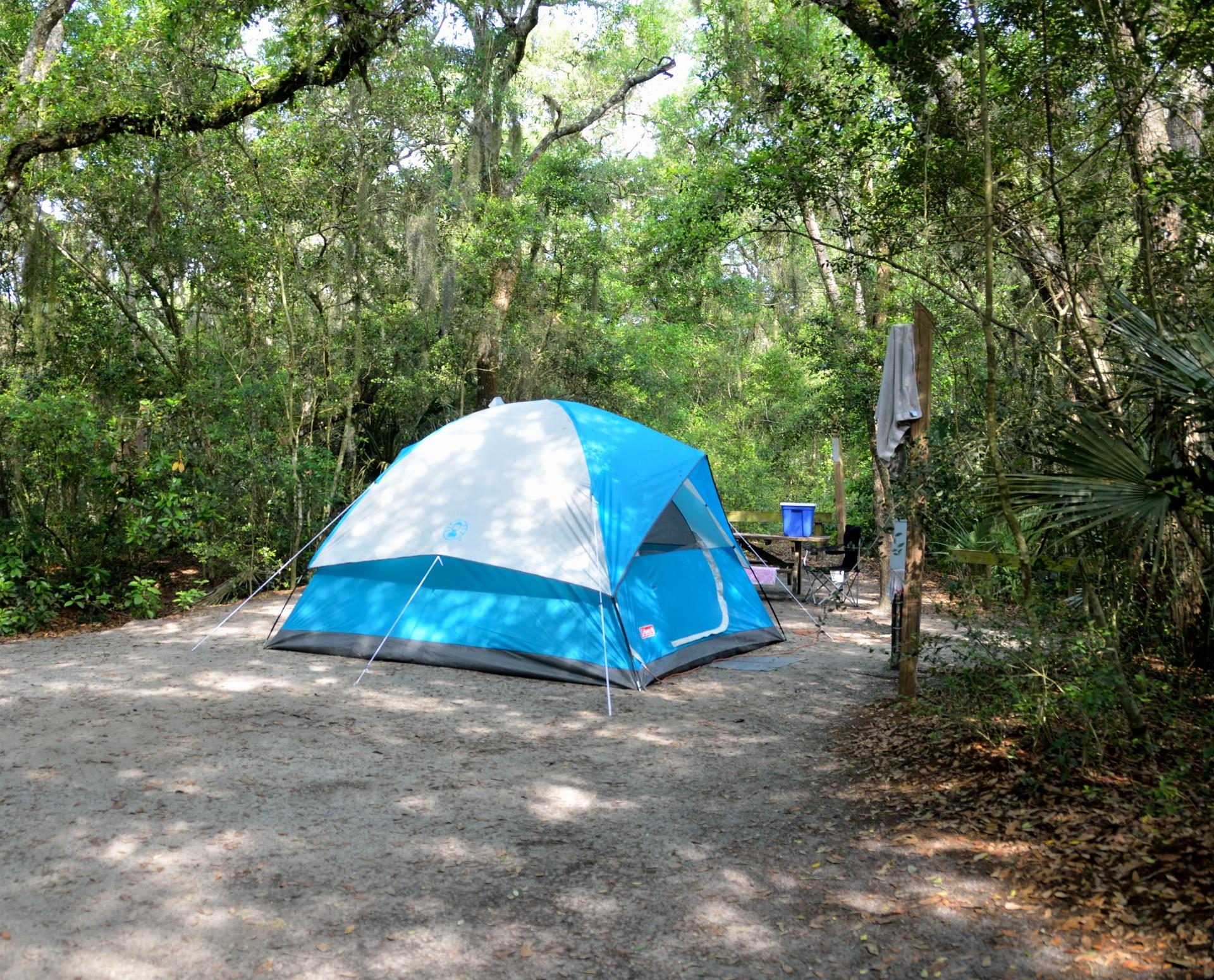 Camping le Font du Merle à Branoux les Taillades