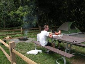 Camping les Gorges de l'Hérault à Sumène