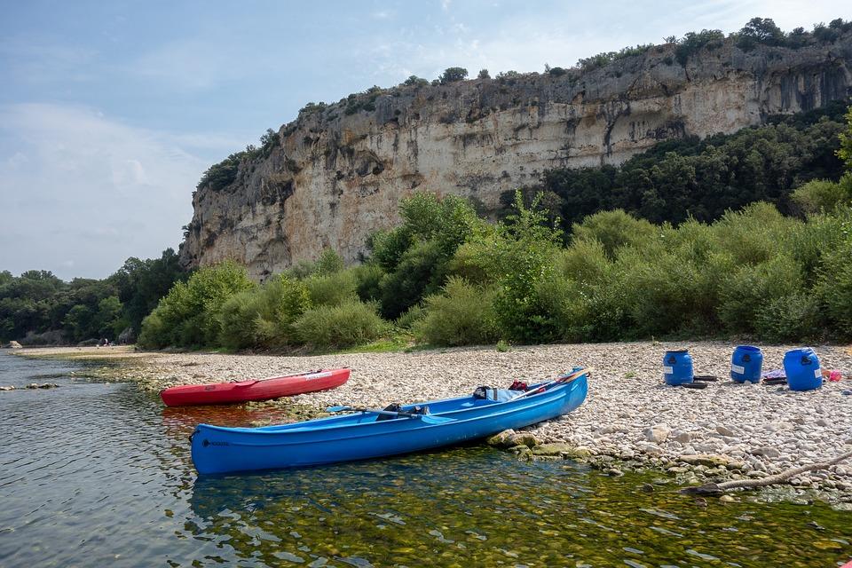 Canoë dans le Gard