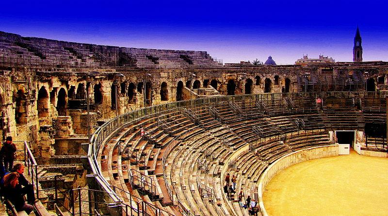 La ville de Nîmes