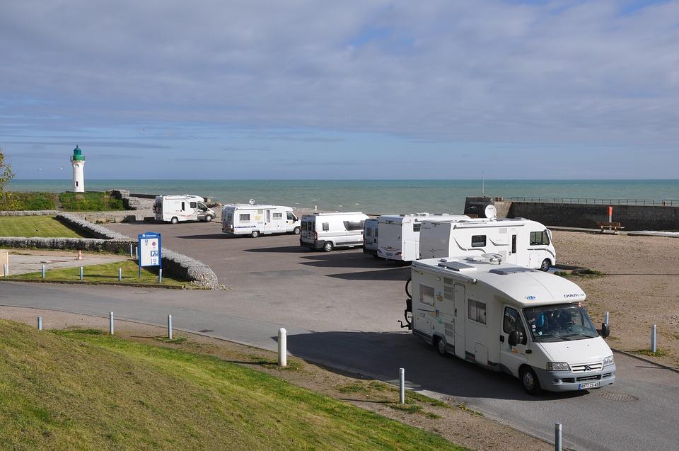 Les aires de camping car