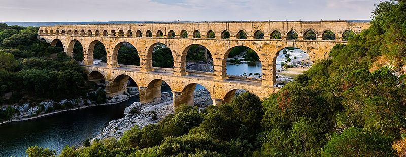 Visiter Le pont du Gard