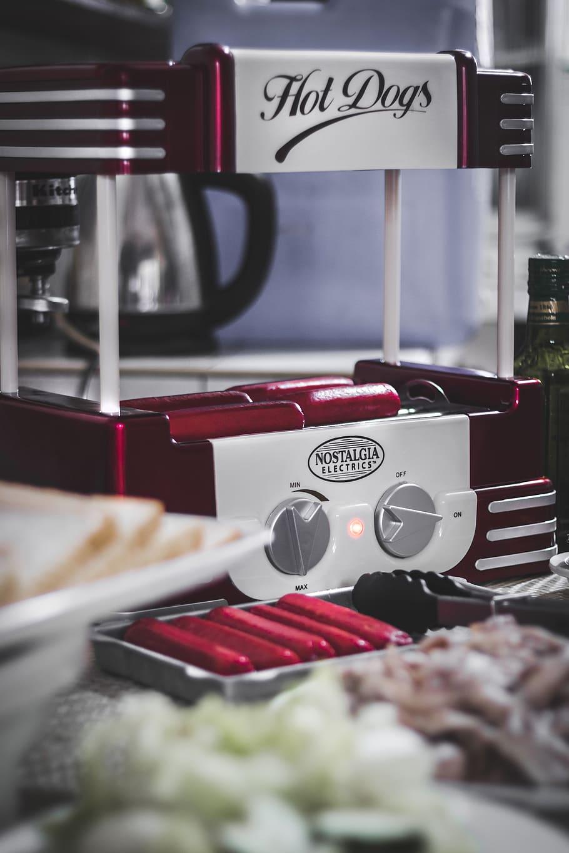 La machine à hotdog pour les professionnels
